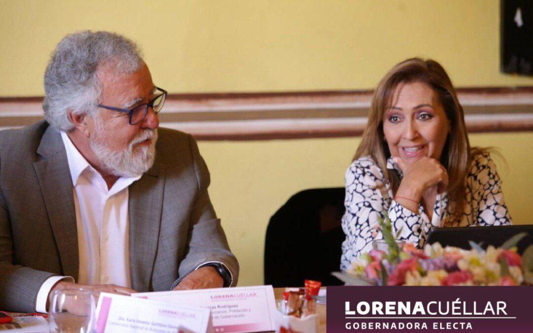 Lorena Cuéllar busca erradicar la violencia de género