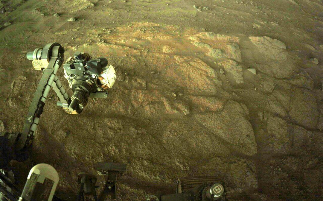 NASA reveló la estructura interna de Marte