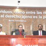 Semar inscribió leyenda en su sede de Baja California