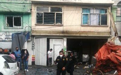 Se reporta explosión en la alcaldía Iztacalco
