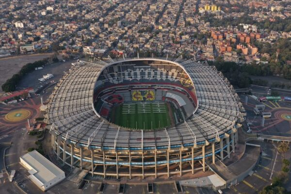 Twitter Estadio Azteca