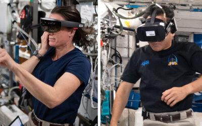 NASA utiliza realidad virtual en la Estación Espacial