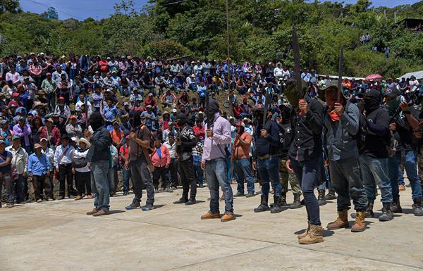 Pantelhó, Chiapas Foto: EFE