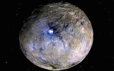 NASA investiga minerales del planeta Ceres