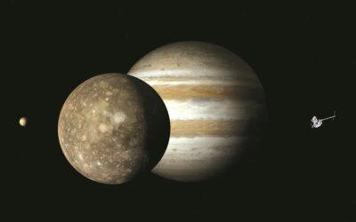Imágenes de la luna de Júpiter fueron reveladas por la NASA
