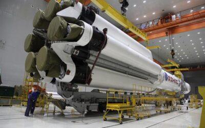 Culminó la instalación del cohete ruso