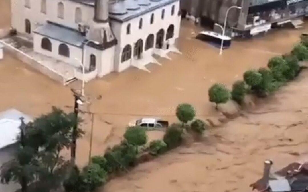 Por lluvias se registran nuevas inundaciones en Turquía