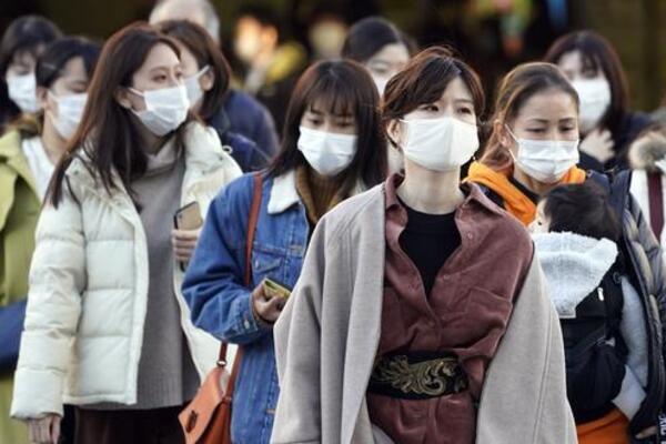 Covid golpea a Japón. Foto: EFE