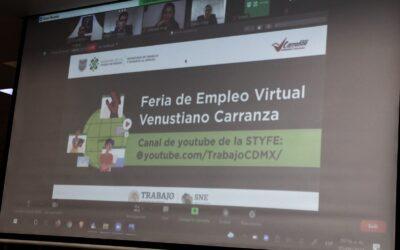 Inauguran Feria del Empleo Virtual, ofrecieron más de mil puestos de trabajo