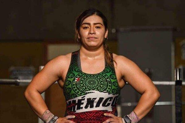 Aremi Fuentes se llevó bronce. Foto: Twitter