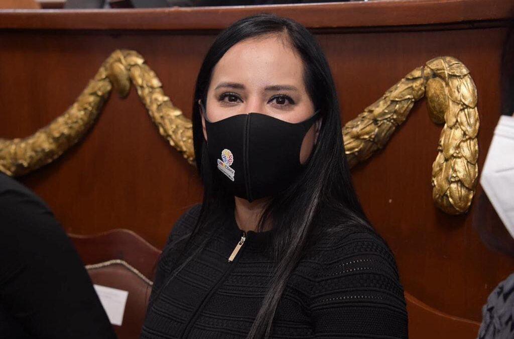 Sandra Cuevas pidió más presupuesto en Cuauhtémoc por sismos