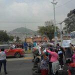 Vecinos de Ecatepec protestan por falta de agua