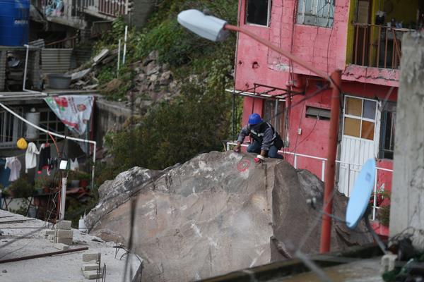 GAM afectada por deslave en Cerro del Chiquihuite