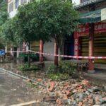 Sismo en China dejó al menos tres muertos y 60 heridos