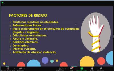Buscan concientizar a la juventud sobre el suicidio en Ixtapaluca