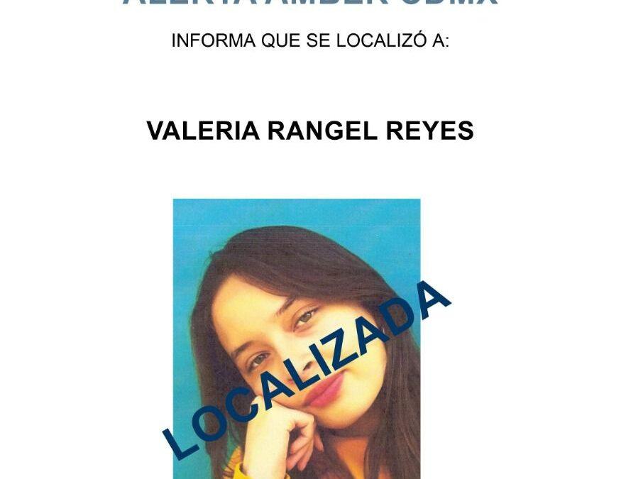 Valeria Rangel regresó, tras 23 días desaparecida