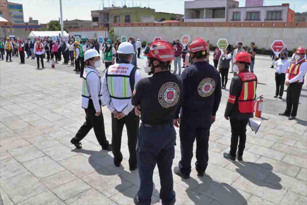 Huixquilucan se suma al Macrosimulacro Nacional de 2021
