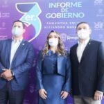 Gobernador presente en el Tercer Informe municipal de Guanajuato