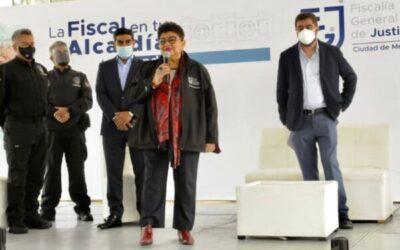 Programa de la FGJCDMX llegó a Azcapotzalco