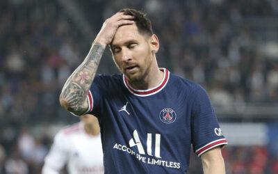 Messi lesionado y es baja para enfrentar a Metz