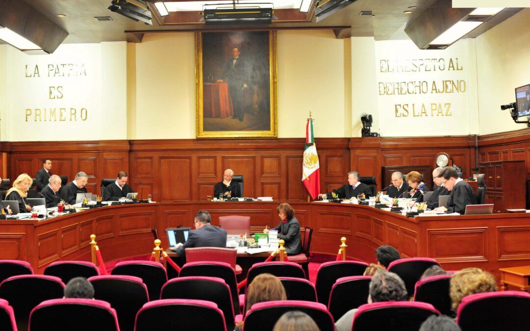SCJN invalida Artículo 10 Bis; exhorta a Congreso legislar al respecto