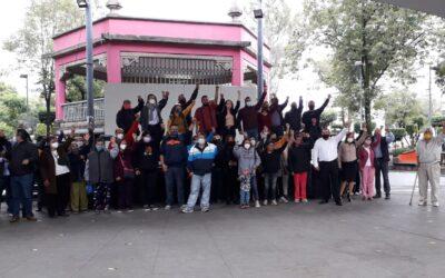 Piden vecinos de Azcapotzalco que respeten su voto