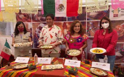 Comenzó la 19 edición de la Feria de la Enchilada en Iztapalapa