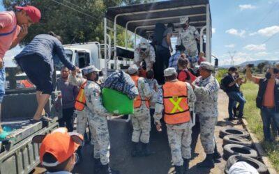 GN mantiene evacuaciones en Querétaro tras inundaciones