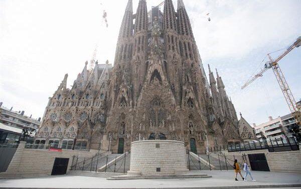 El templo de la Sagrada Familia prevé recuperar visitantes para el  2024