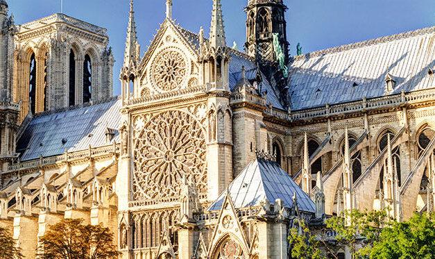 Notre Dame lista para su reconstrucción