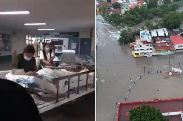 Desbordamiento de ríos en Tula afectó a ocho colonias