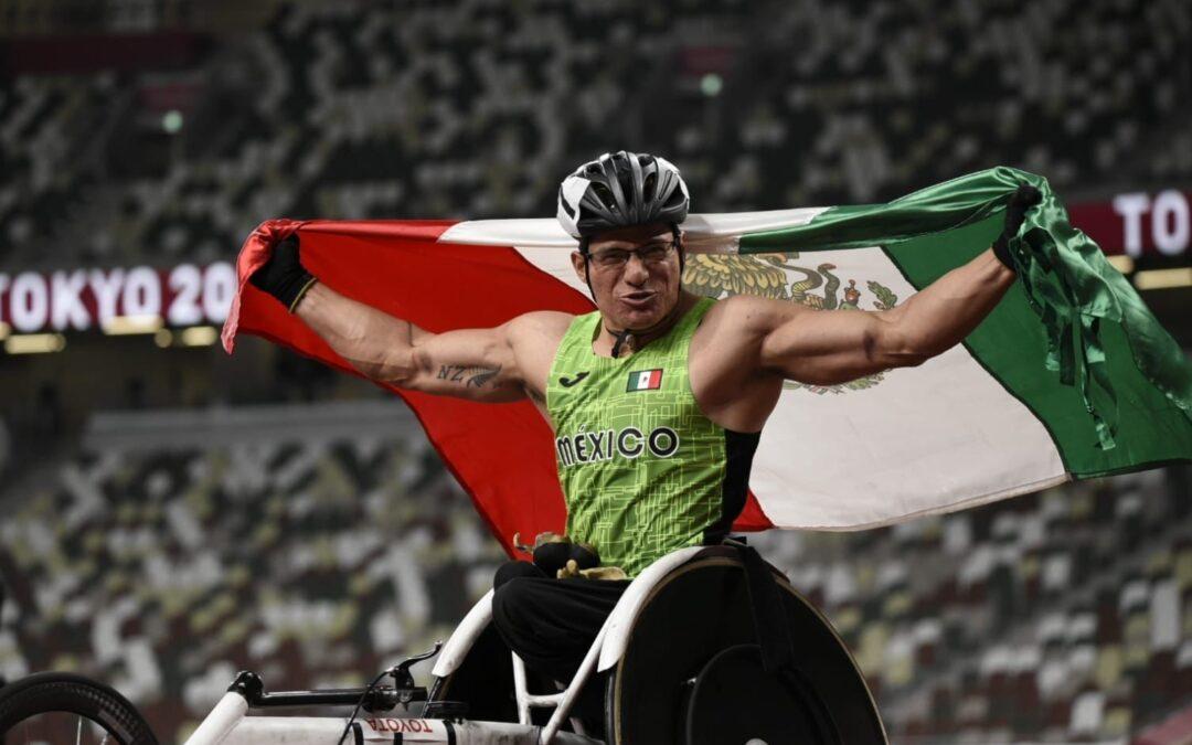 Medallista paralímpico Juan Cervantes, con nuevas metas