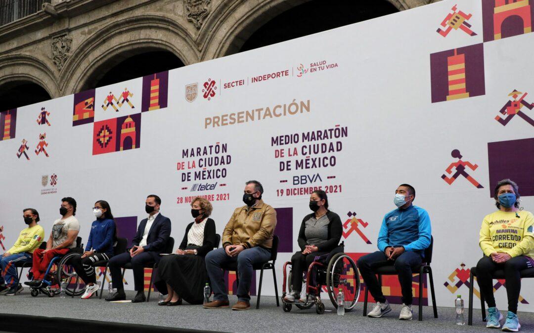 La Maratón de la CDMX será de manera presencial