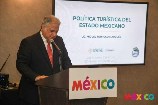 Miguel Torruco Foto: Gobierno de México