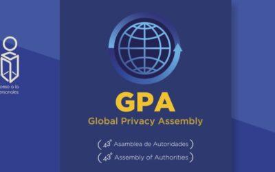 INAI asumió Presidencia de la Asamblea Global de Privacidad