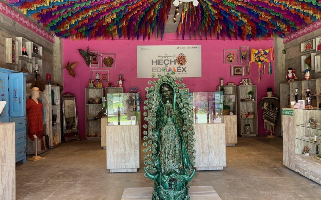 IIFAEM presentó su nueva tienda de artesanías Casart