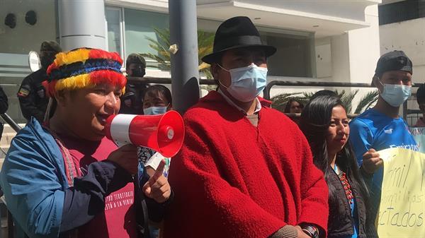 Indígenas de Ecuador se manifestaron por derrame de petróleo en 2020