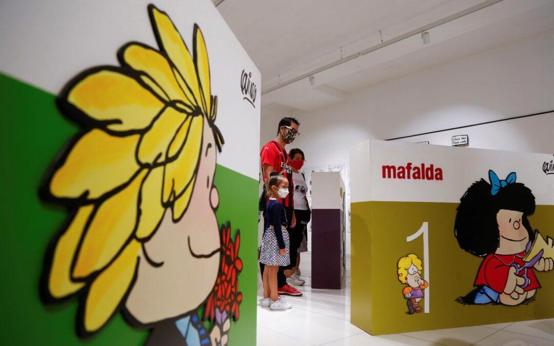 El mundo de Mafalda llega a México con una exposición interactiva