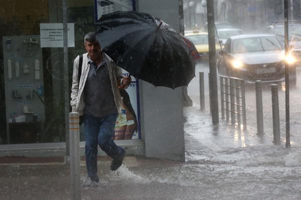 Atenas inundaciones Foto: EFE