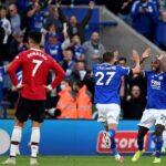 Tropiezo del Manchester United en su visita al Leicester