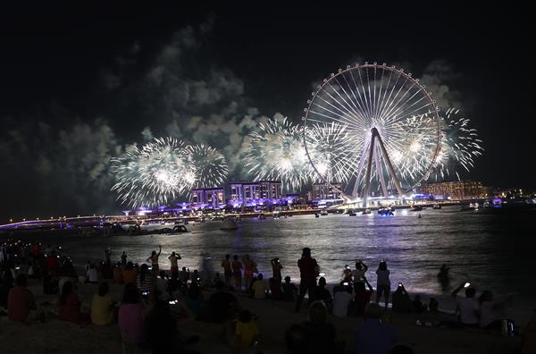 Dubai inauguró la rueda de la fortuna más grande del mundo