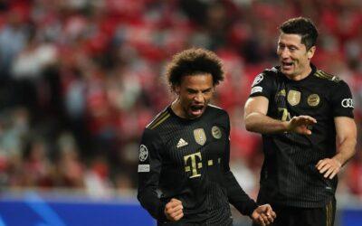 El Bayern Munich continúa imparable y golea al Benfica