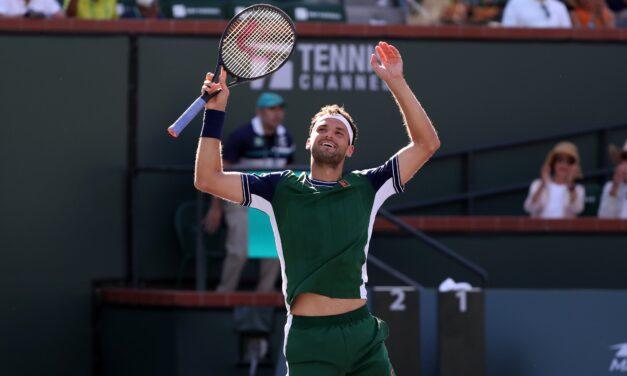 Dimitrov sigue sorprendiendo en Indian Wells