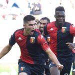 Johan Vásquez anota en su debut con el Genoa
