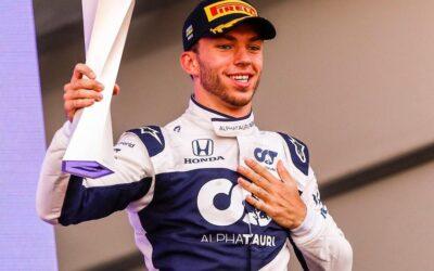 Pierre Gasly pide lugar de 'Checo' en Red Bull