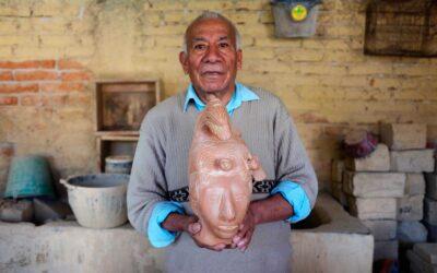 Artesanos mexiquenses elaboran réplicas prehispánicas