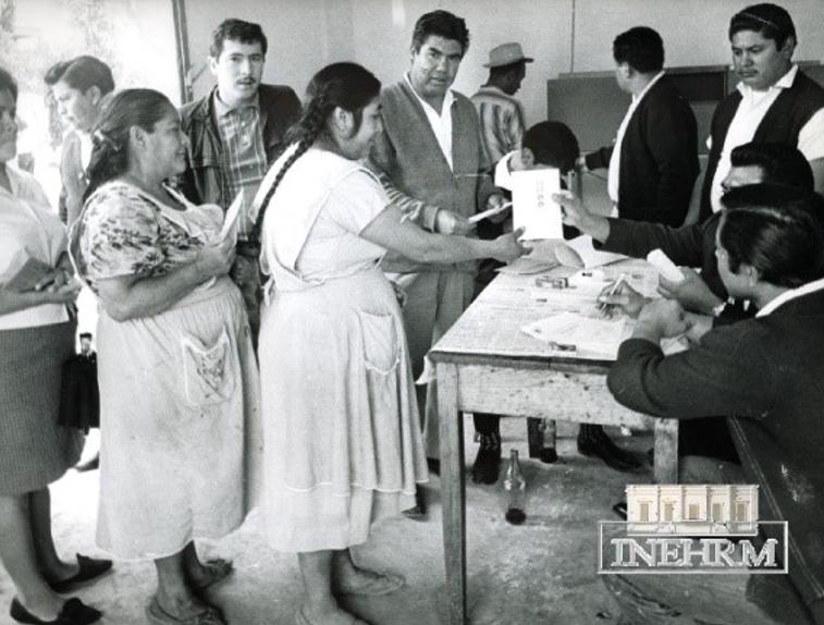 El derecho a votar y ser votadas cumplió 68 años en México