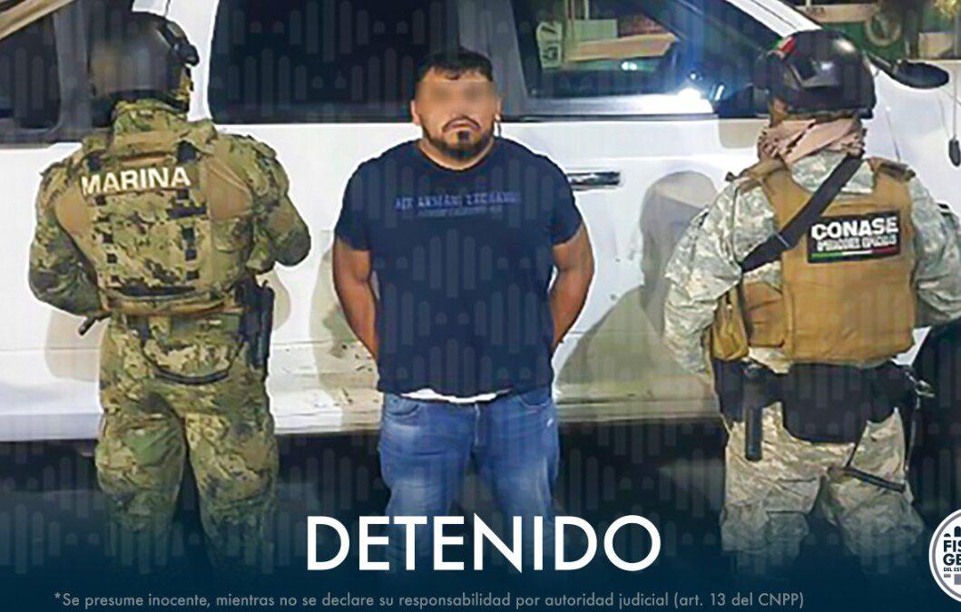 Detienen a «El Rex», líder huachicolero de Querétaro