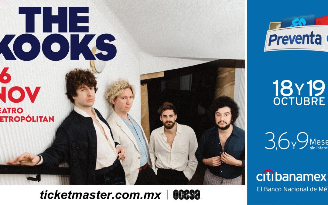 The Kooks llegará al teatro Metropólitan
