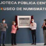 Rehabilitaron la Biblioteca Pública Central Estatal en Edoméx